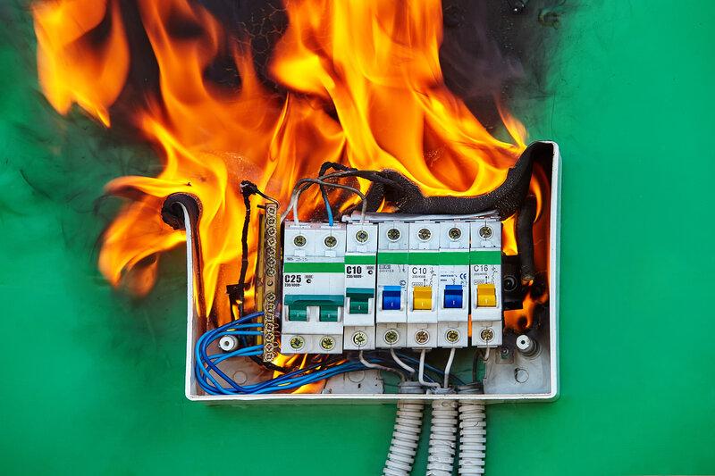 Home Inspection Franchise Fire Hazard